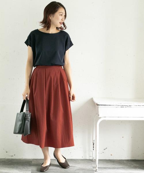 [URBAN RESEARCH ROSSO WOMEN] カラータックミディスカート