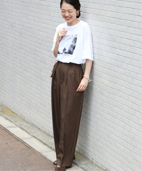[IENA] paris photo Tシャツ◆