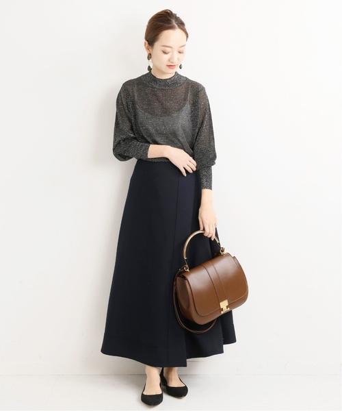 [IENA] ドライウールラップスカート◆2