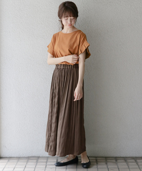 [ITEMS URBANRESEARCH] プリーツギャザースカート