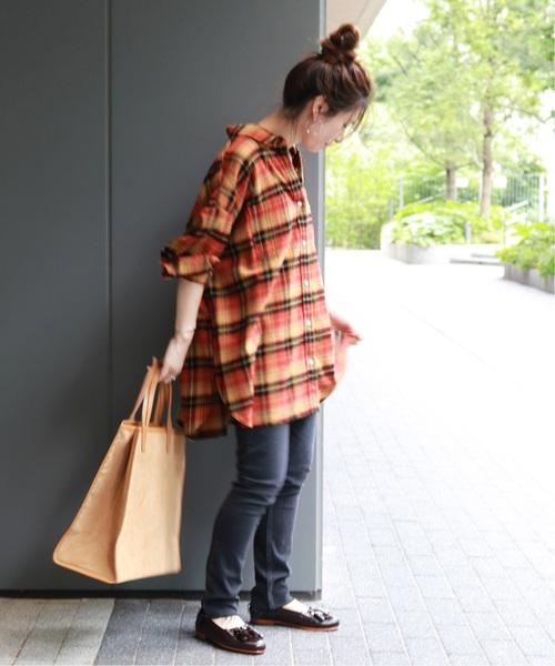 [JOURNAL STANDARD] ビエラチェックビッグシャツ2