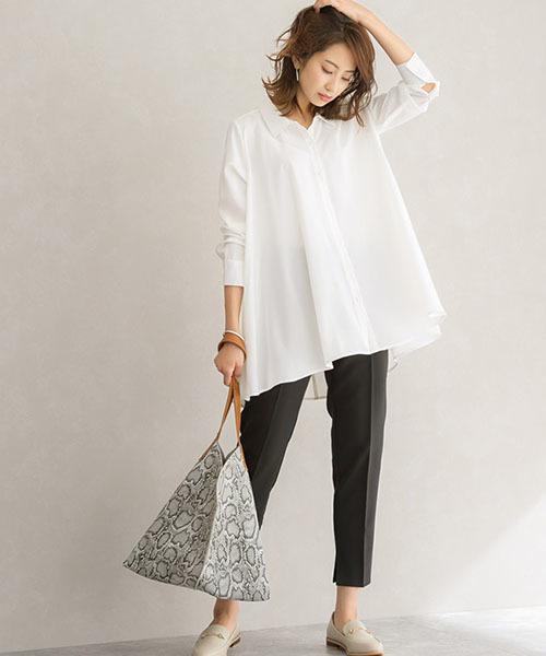 [Pierrot] Aラインシャツ