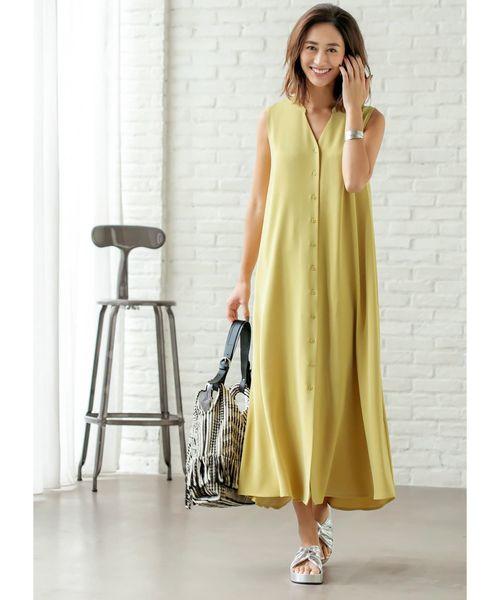 [STYLE DELI] スッキリAラインシャツワンピース