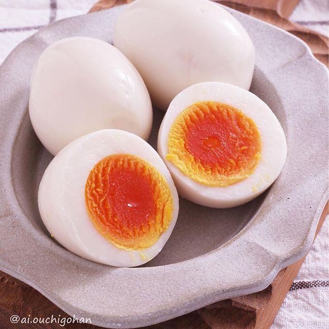 白だしを活用して本格的に作るレシピの味玉