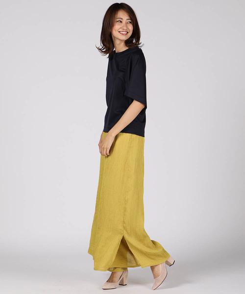 [ketty online store] ロイヤルスムースWスリーブTシャツ