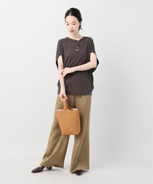 [Plage] リヨセルハイゲージTシャツ3◆