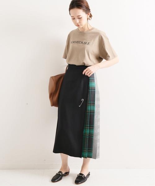 [IENA] ONEIL OF DUBLIN 別注 CLASSIC パッチワークスカート