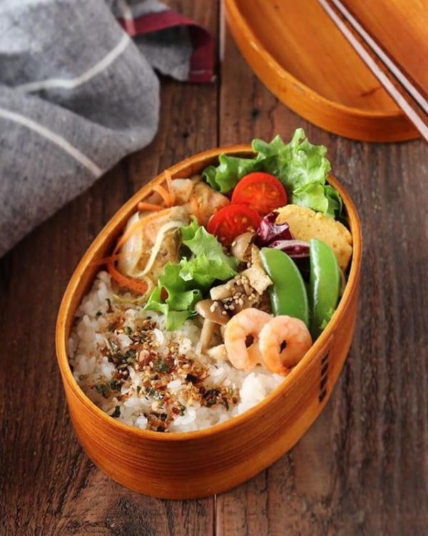 しっとり美味しい♪鮭のマリネ焼き弁当