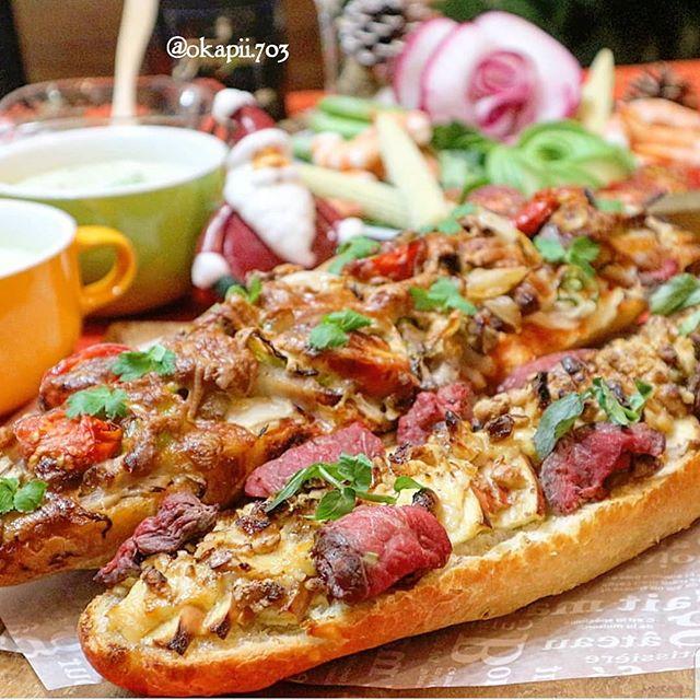ローストビーフ&ベーコンのミックスバケットピザ