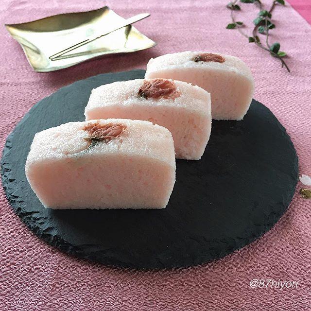 ⑪絶品手作りレシピ:桜かるかん