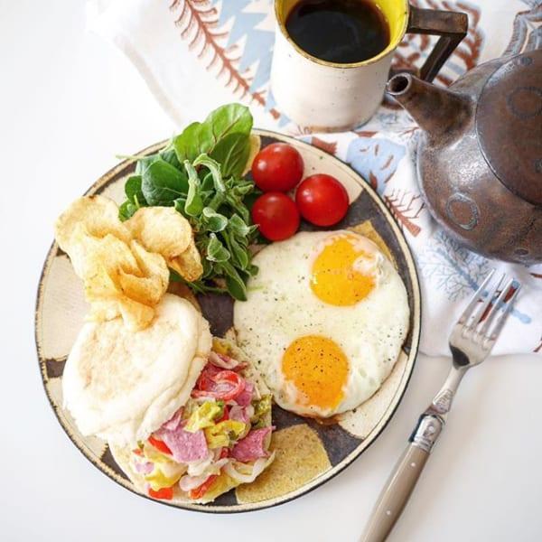 美味しい朝食におすすめ!ハムマリネサンド