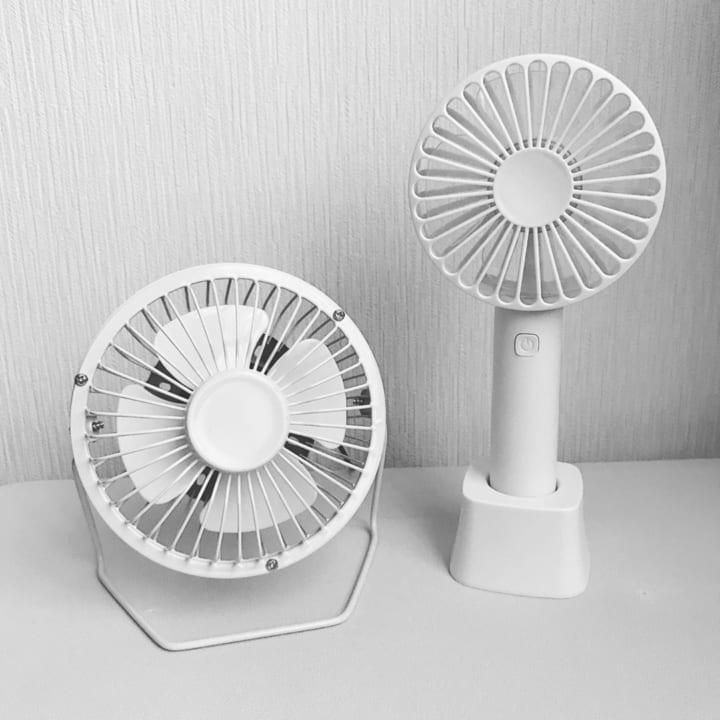 USBワイヤー扇風機&HANDY Fan