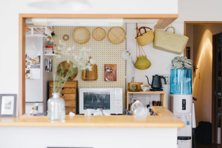 機能的に整えたキッチン