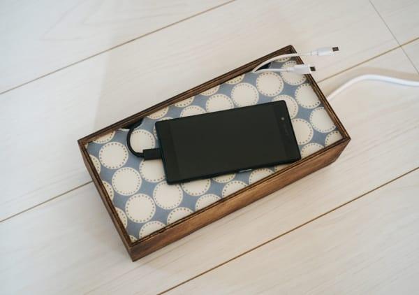 透け感のあるPP板+紙や布2