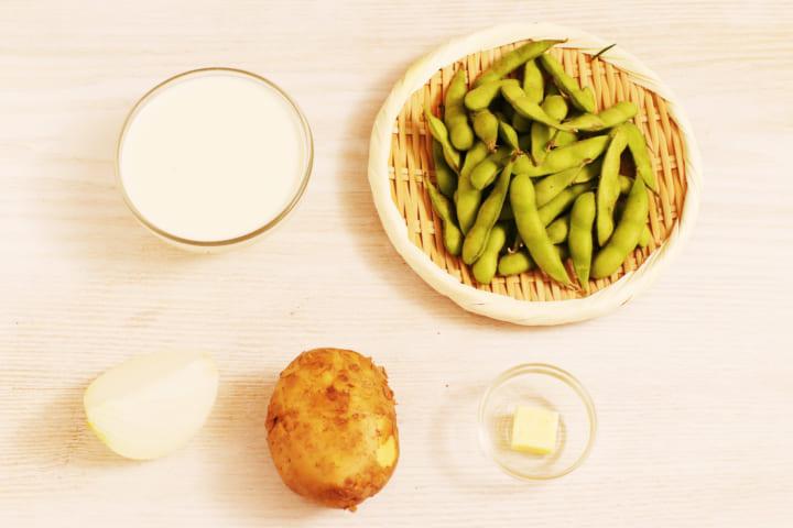 枝豆 冷製スープ