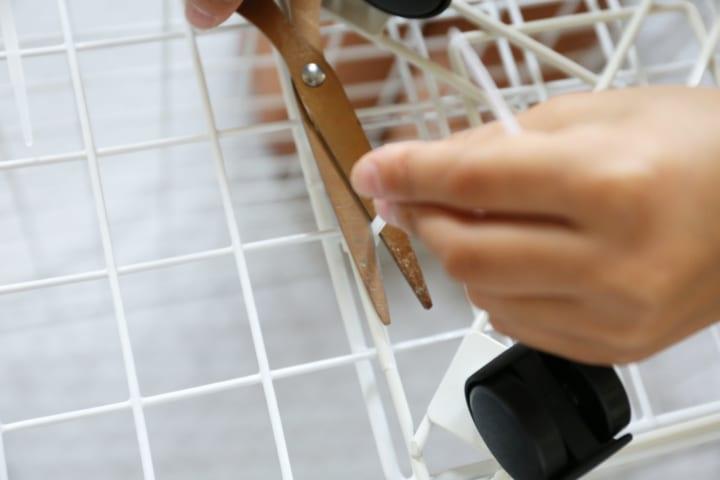 ダイソー ワイヤー 収納 DIY8