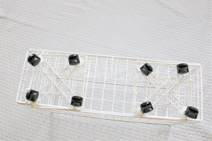 ダイソー ワイヤー 収納 DIY7