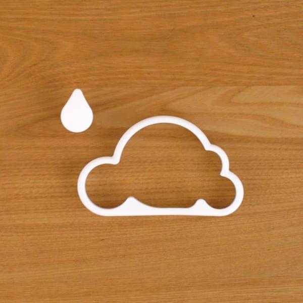 雲形 ボトルオープナー(マグネット付き)