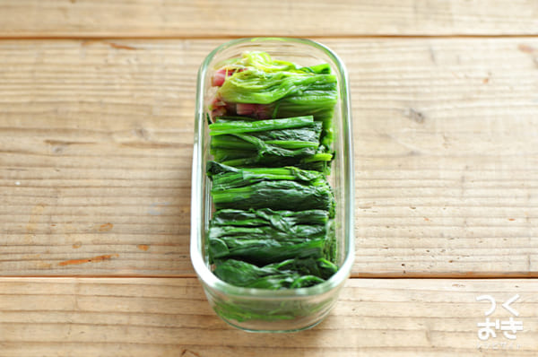 お弁当に人気のほうれん草レシピ 副菜