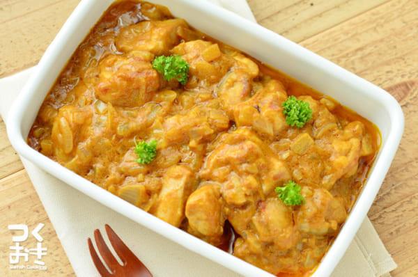 人気のレシピ鶏もも肉のバターチキン