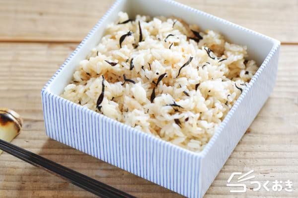 ひじき 人気 レシピ ご飯物3