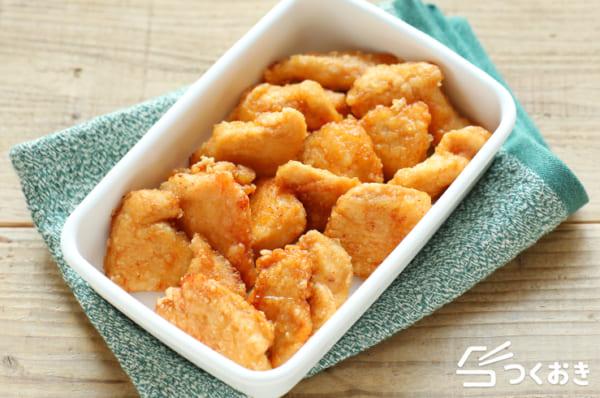 鶏むね肉 人気レシピ 揚げ物4