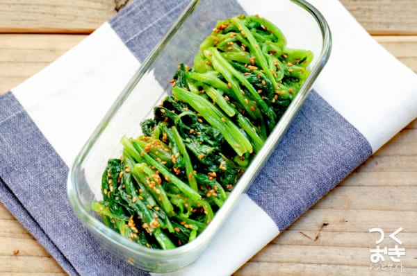 小松菜の人気おかずレシピ 炒め物12