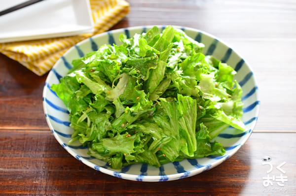 レタスの人気レシピ《サラダ・副菜》