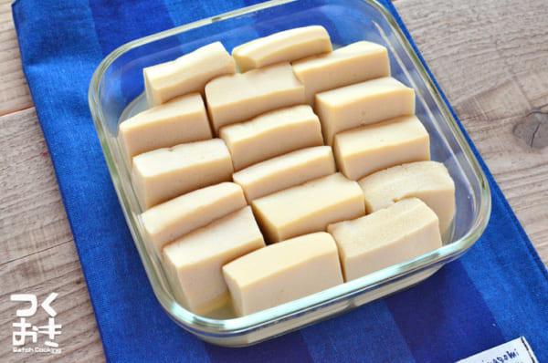 簡単に作って栄養満点!高野豆腐のシンプル煮