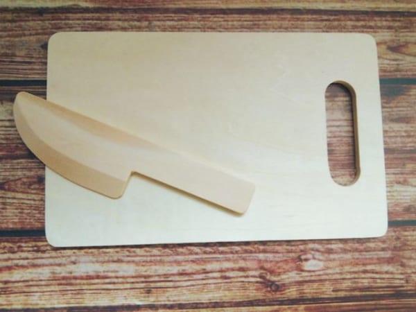 100均の木製おままごとセット2