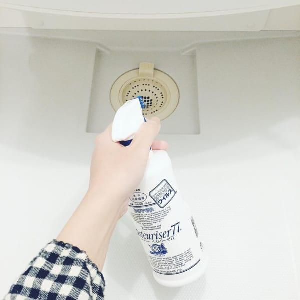 お風呂の排水口掃除