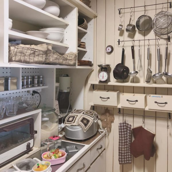 キッチン ディスプレイ収納