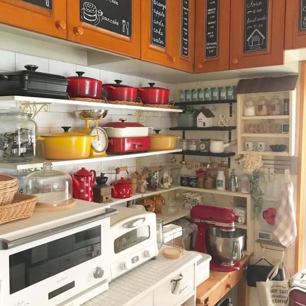 キッチン ディスプレイ収納13