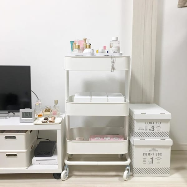 IKEAの大人気ワゴン【RÅSKOG:ロースコグ】