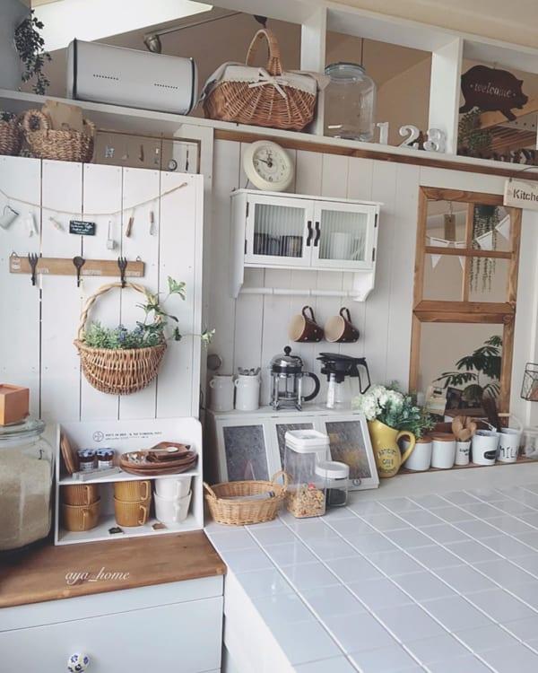 キッチン ディスプレイ収納15