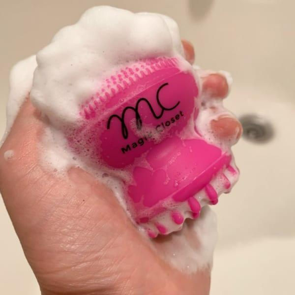 シリコン洗顔スポンジ