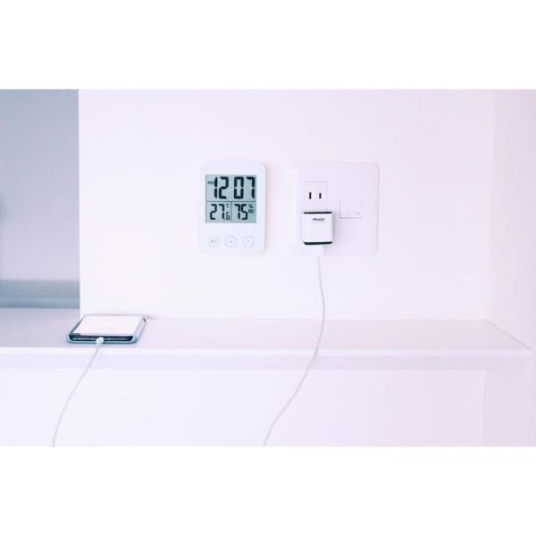 使いやすいクロック温度計【SLÅTTIS:スロッティス】