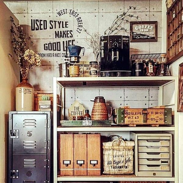 キッチン ディスプレイ収納17
