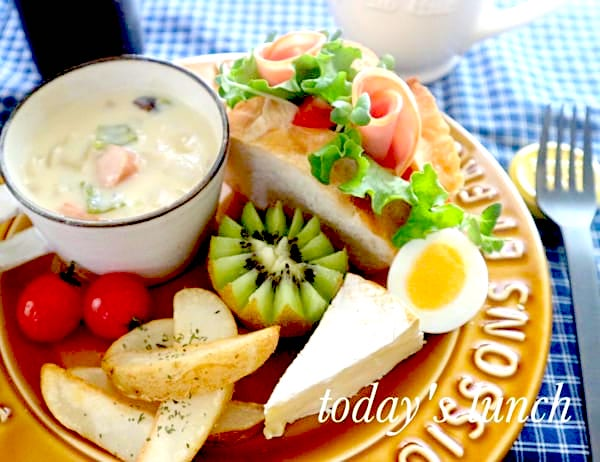 クリームシチューの献立 人気料理に合うおかず 副菜 スープ特集 Folk