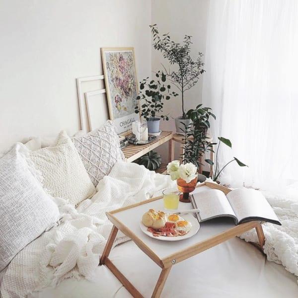 ベッドトレイ【IKEAのDJURA】