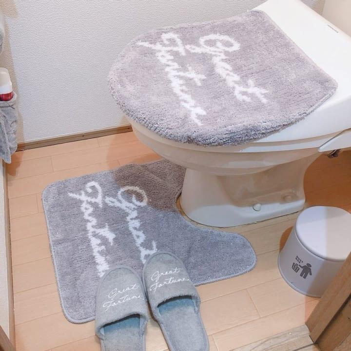 【3COINS】トイレのトータルコーディネートも300円ショップにお任せ