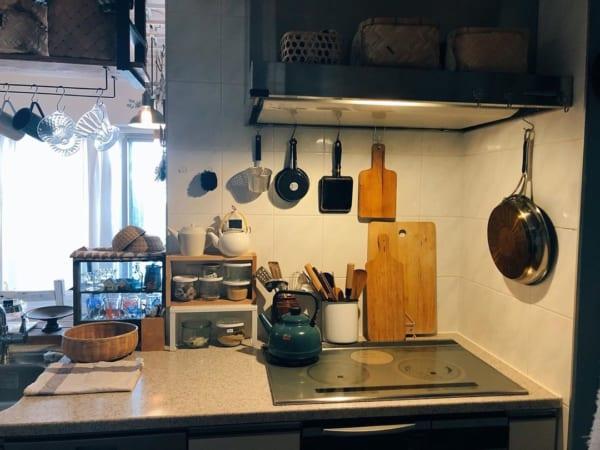 キッチン ディスプレイ収納2