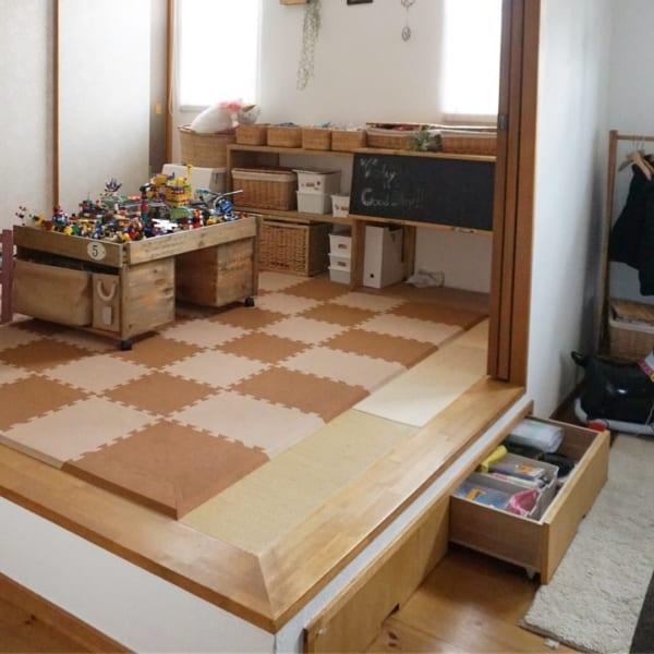和室を子供が遊べる空間に