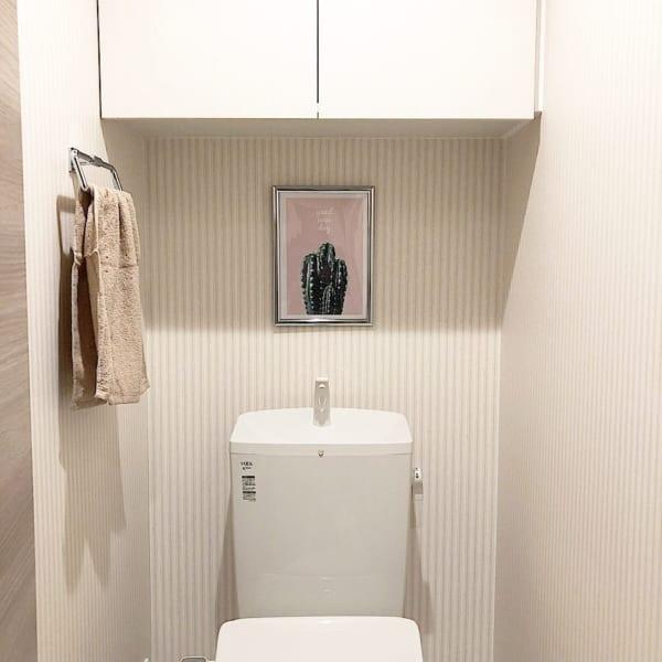 おしゃれなポスターをトイレに飾る