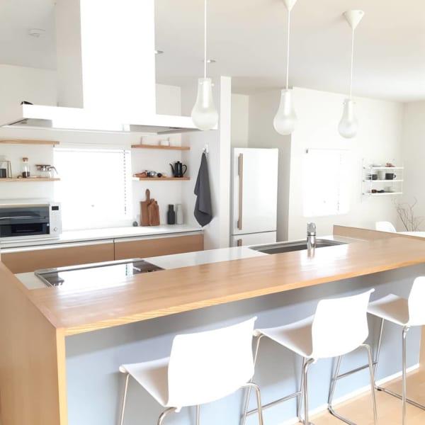 北欧スタイル キッチン2