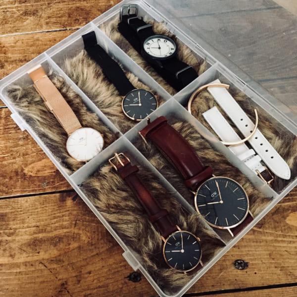 「SIKIRI6」で時計収納①
