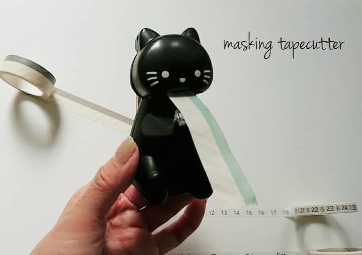【ダイソー】ユニークすぎるテープカッター