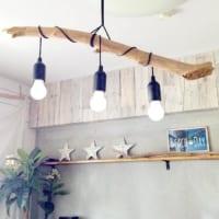 「ヒトデ・貝殻・流木」をディスプレイ♪お部屋の中で夏の海気分が味わえる♡