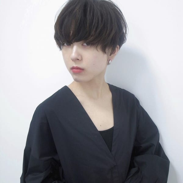小顔に見える前髪 ショートヘア3
