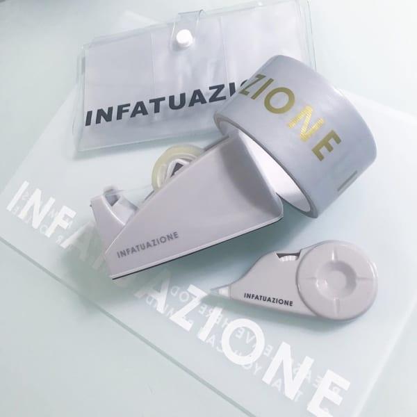 INFATUAZIONESテープカッター(ダイソー)